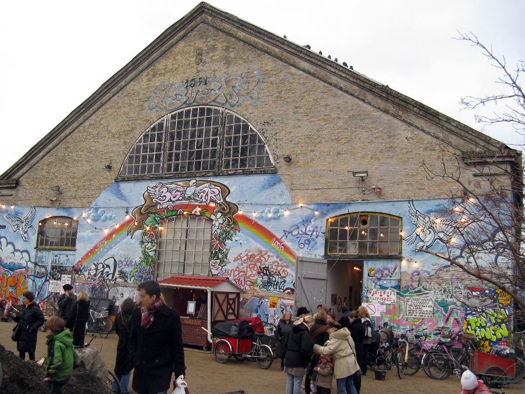Julemarked på Christiania