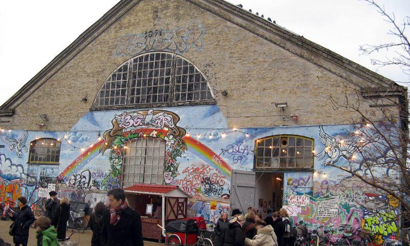 Julemarked på Christiania. Foto: PR