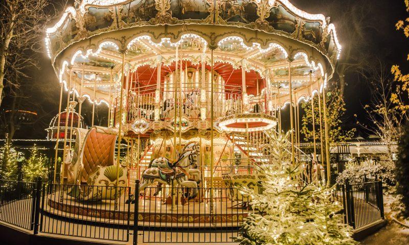 Tivoli juler virkelig igennem med lys. Foto: Rasmus Kramer Schou