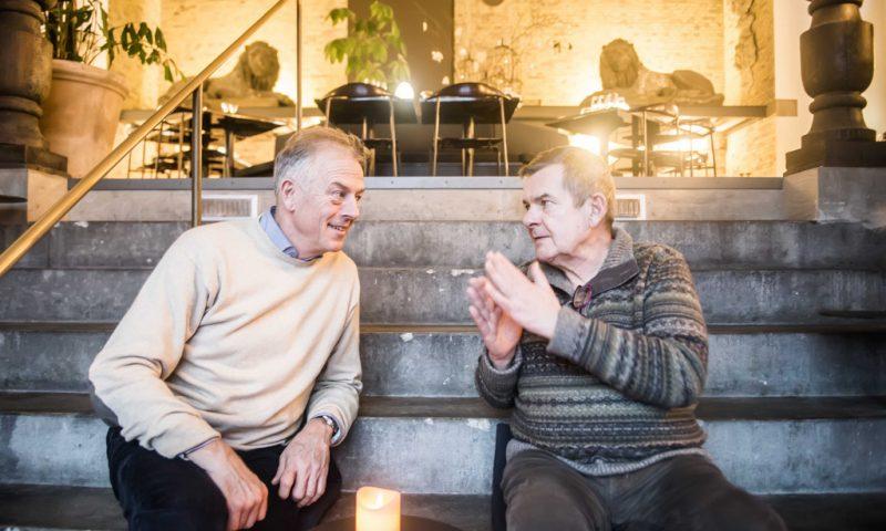 Søren Gericke og Rasmus Bo Bojesen i Restaurant Tårnet. Foto: Rasmus Kramer Schou