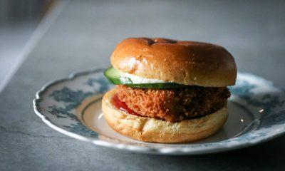 Fasanburger fra Mark Lundgaards nye bog 'Vild fastfood'. Fotograf Jesper Rais