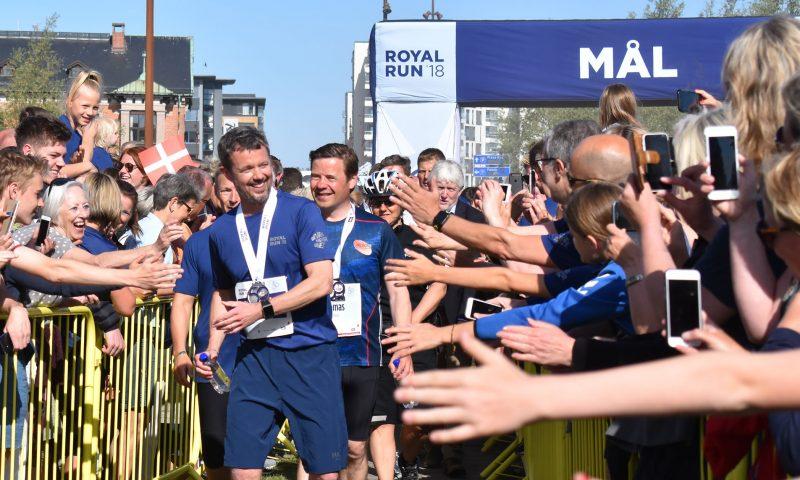 Arkivfoto fra sidste års Royal Run