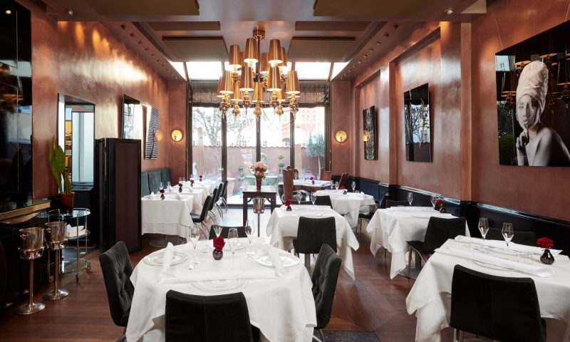 Den italienske gourmetrestaurant Era Ora PR Foto