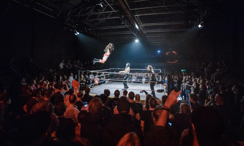Wrestling PR Foto