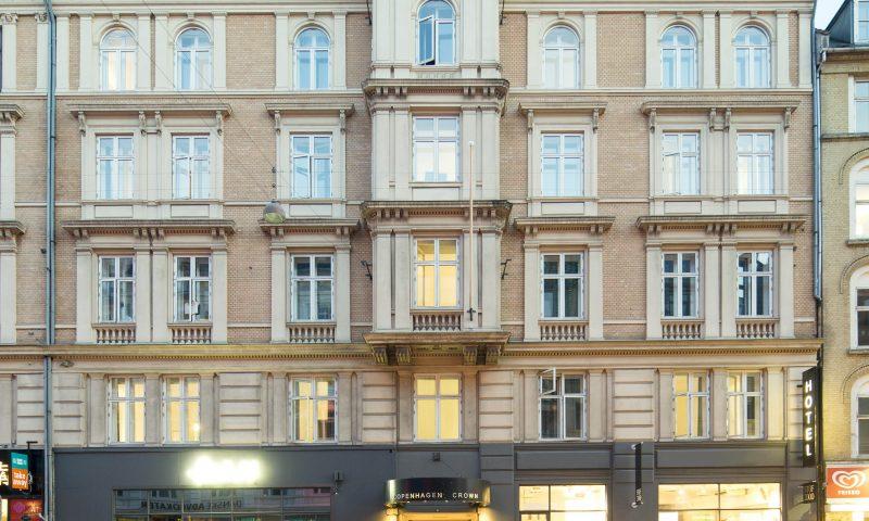 Foto: Kasper Dudzik. Köpenhamn 20140919. Crown Hotel Vesterbrogade 41 i Köpenhamn.