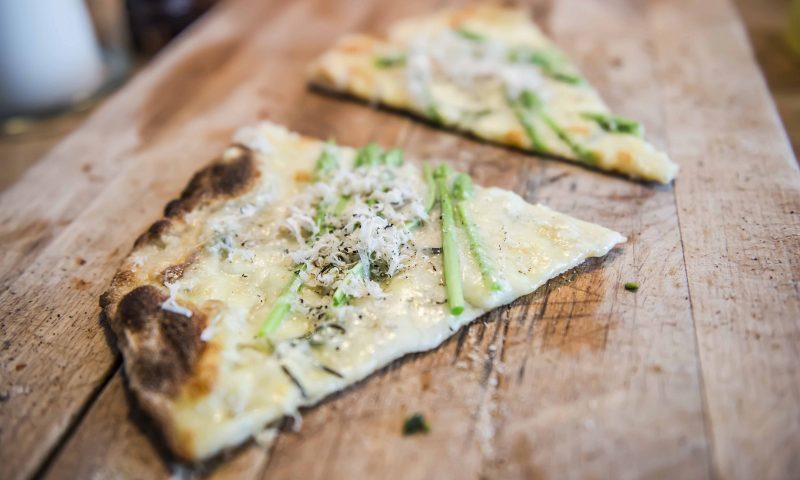 Hos Fischer går  all in på pizza Foto Rasmus Kramer Schou
