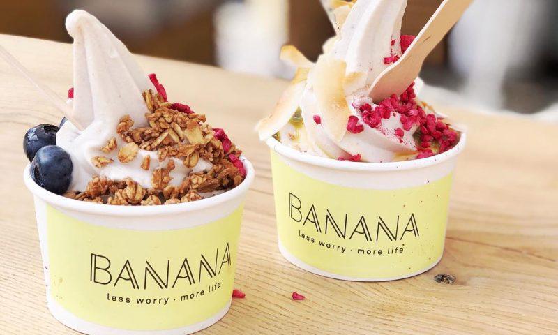 Banana bruger overskudsbananer til at lave is. Foto: PR