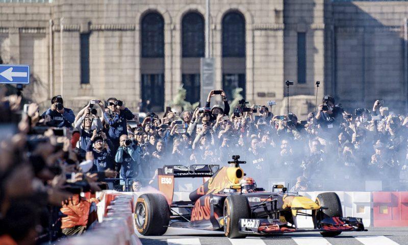 Foto: PR. Red Bull Racing Showrun har besøgt storbyer verden over. Nu kommer showet til København.