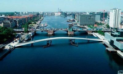 Her ses både Lille Langebro og selve Langebro Foto: Københavns Kommune