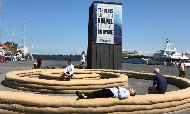 Sand Bench på Ofelia Plads. Foto: PR