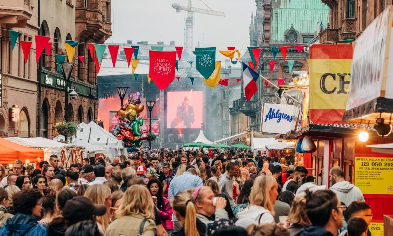 Malmöfestivalen fylder endnu en gang gaderne med musik og mad hos vores svenske naboer. Foto: PR, Pierre Ekman