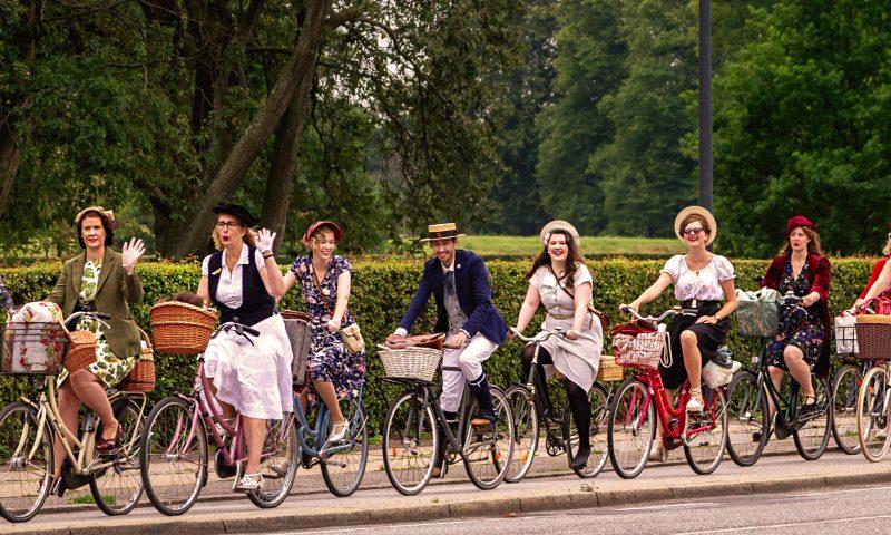 Copenhagen Tweed Ride 2019 PR Foto