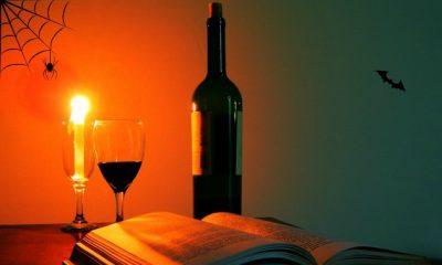 Halloween vin PR Foto