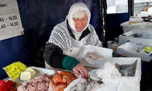 Doris Marx - Københavns sidste fiskerkone PR Foto