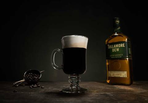 Gratis Irish Coffee PR Foto