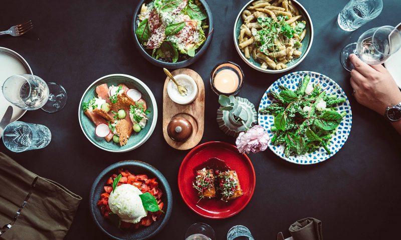 Family Feast hos Basso PR Foto