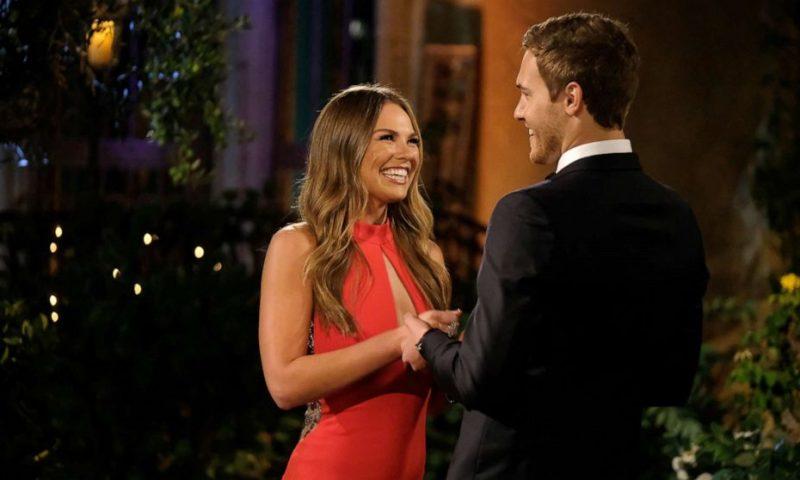 PR-billede fra amerikanske The Bachelor