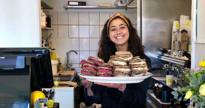 Ejer Minna fra Minnas Kaffebar Foto: @Steffotomania