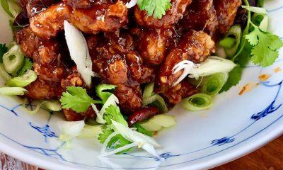 Friteret kylling i tempuradej fra GongGong PR Foto