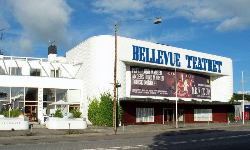Bellevue Teatret Klampenborg får midlertidigt en popup pizzaria PR Foto
