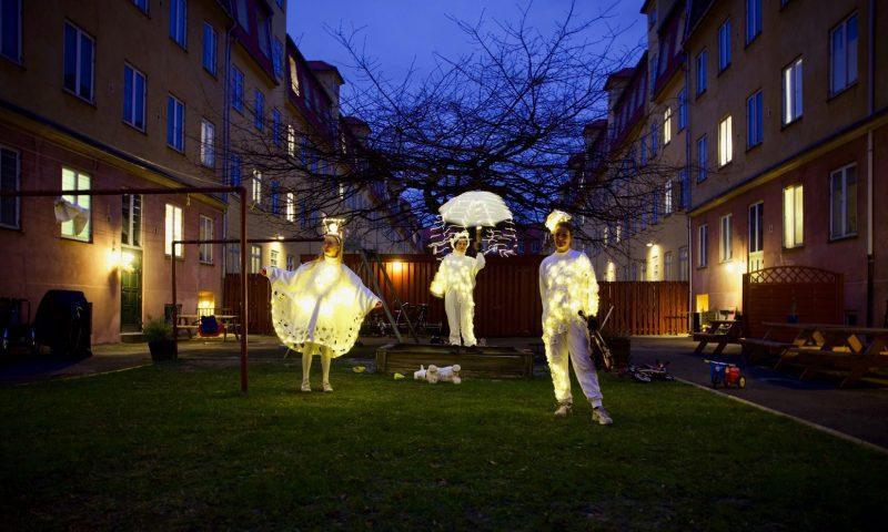 Teaterselskabet Det andet Scenarie  med LysLevende Foto: Lars Vibild