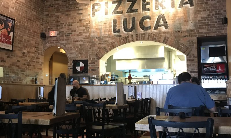 Jason K. Watkins/For the JOurnal Pizzeria Luca in the Northeast Heights offers gourmet pizza as well as classic pasta dishes.  agomez@abqjournal.com Mon Aug 28 13:57:39 -0600 2017 1503950257 FILENAME: 732256.jpg