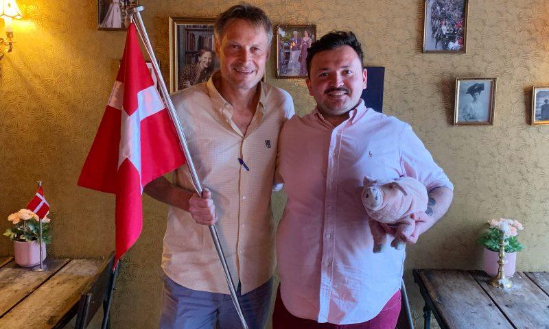 Claus Meyer og Umut  PR-foto