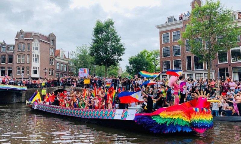 Sådan har det set ud i Amsterdams kanaler