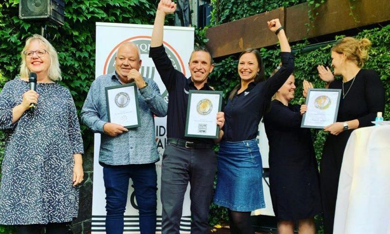De glade vindere af The Liquorice Taste Award 2020 Foto PR