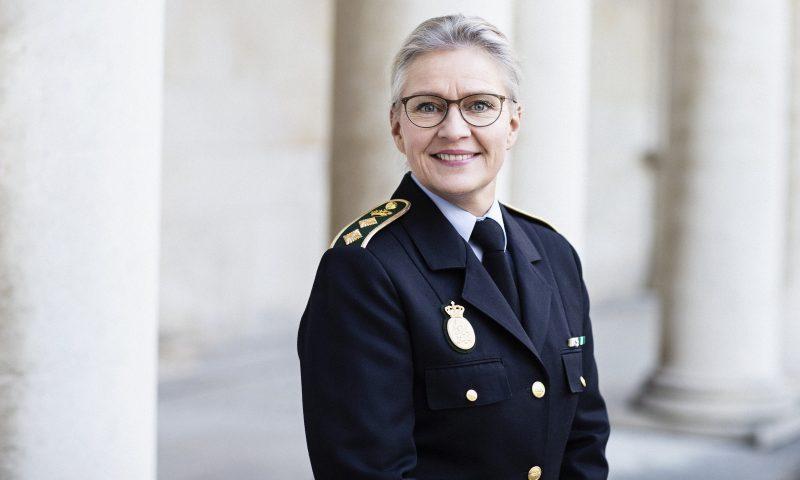 Politidirektør i Københavns Politi Anne Tønnes Foto: Morten Larsen/politi.dk