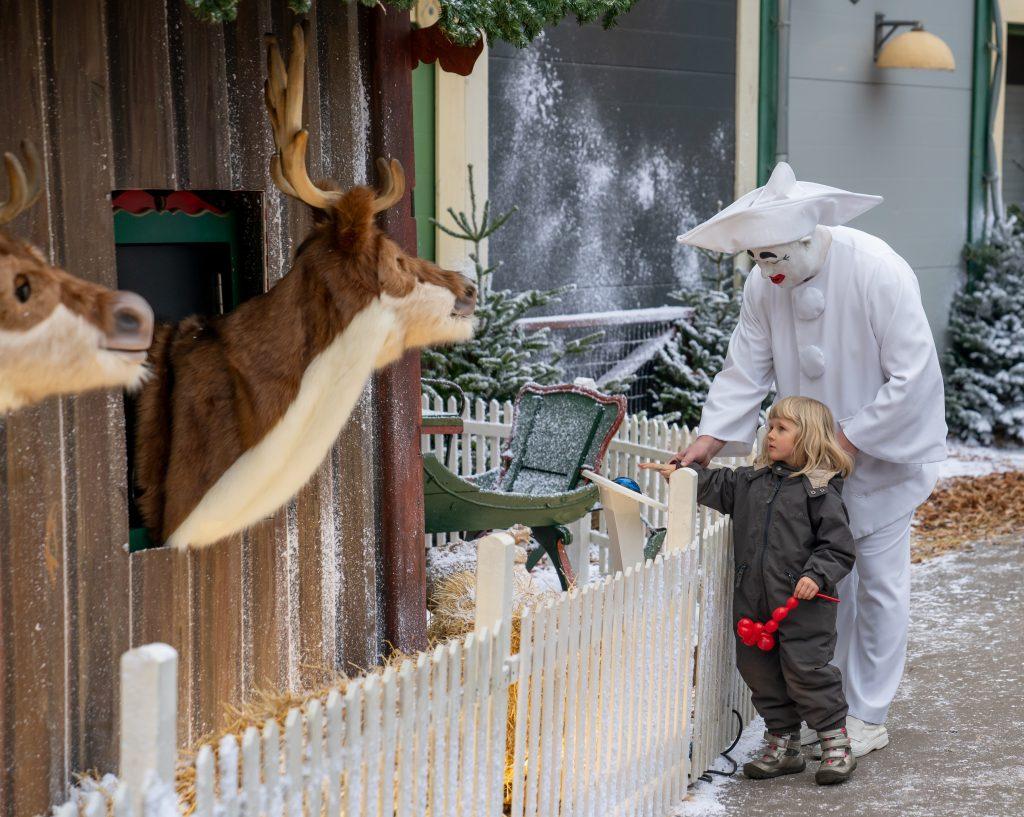 Pjerrot til Jul på Bakken