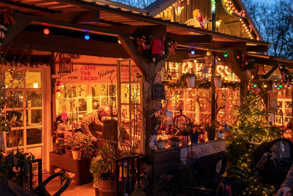 Jul på Bakkens restauranter