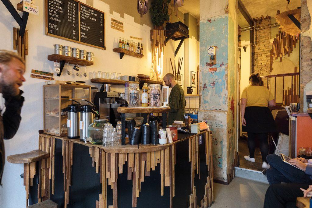 Kaffe på Istedgade
