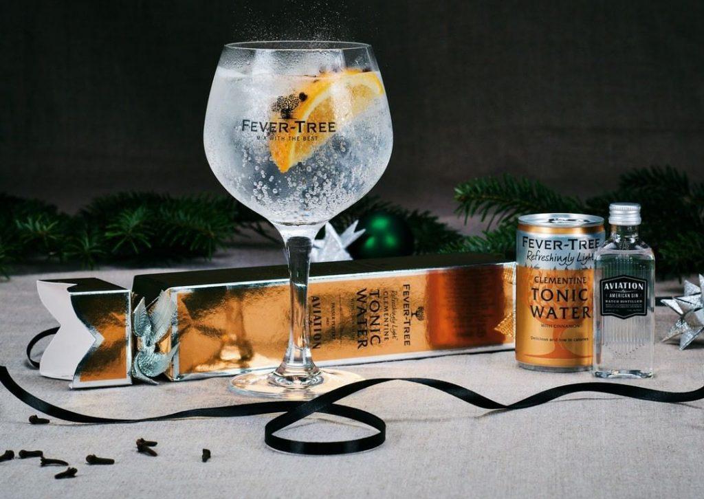 Fever-tree gin og tonic
