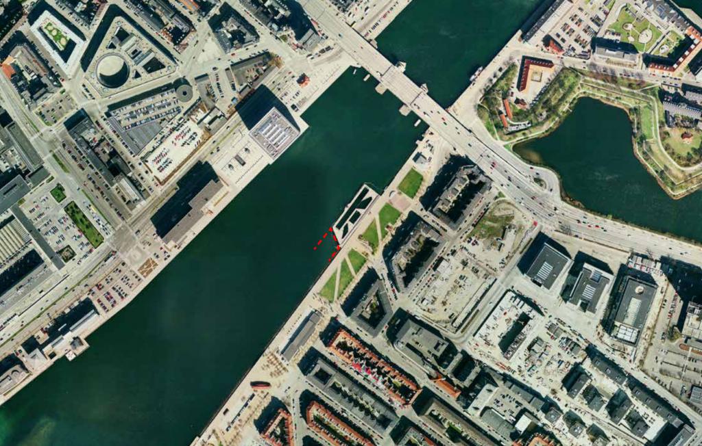 Forslag til udvidelse af havnebadet ved Bryggen