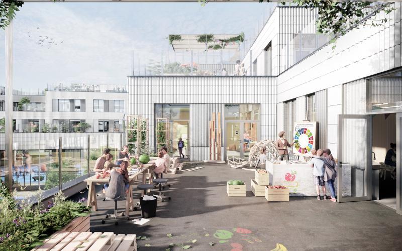 Ny skole på vej i Kødbyen