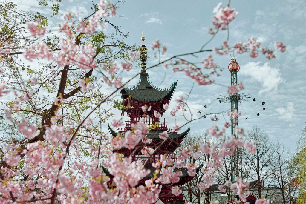 Det japanske tårn i Tivoli
