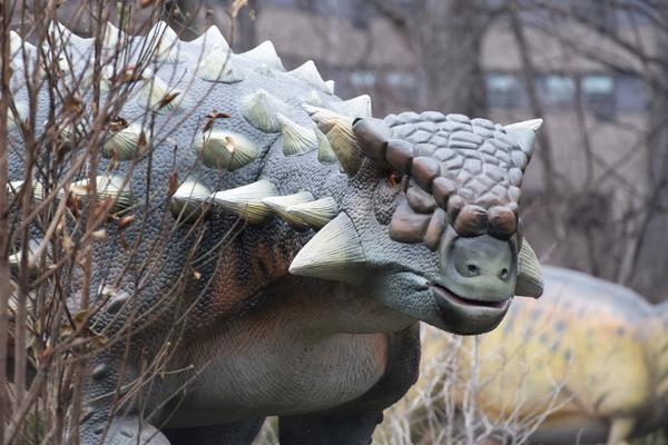 Nu flytter dinosaurerne ind i Zoologisk Have. Foto: PR, Dino Don Inc.