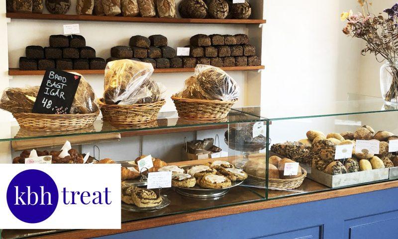 Hos H.U.G på Østerbro finder du masser af gode brød og kager. Foto: PR