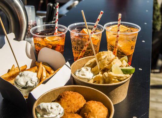 Hummerkejseren Armando Di Raffaele er snart klar med to nye restauranter, en streetfood-stand, en isbil og et kaffespot ved Ofelia Plads. Foto: Rasmus Kramer Schou
