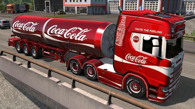 OBS - Arkivfoto fra en Coca Cola bil