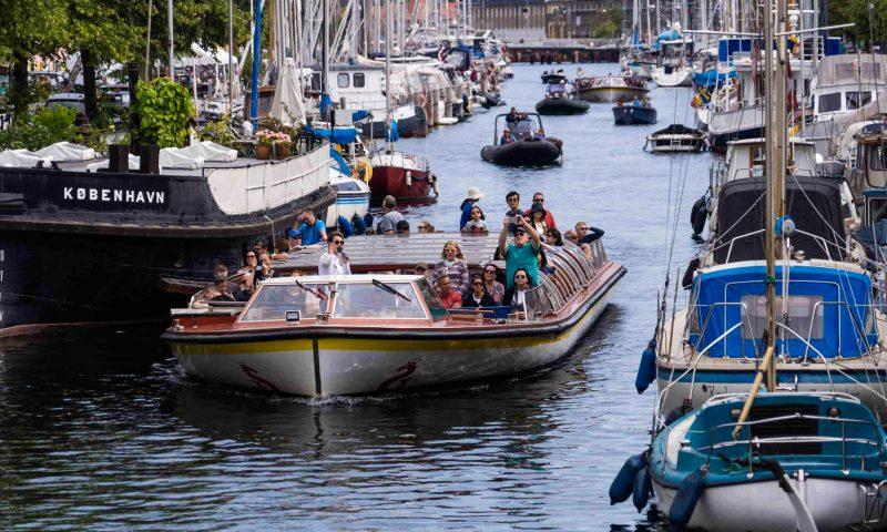 Nu sejler kanalrundfarten i København igen. Foto: PR