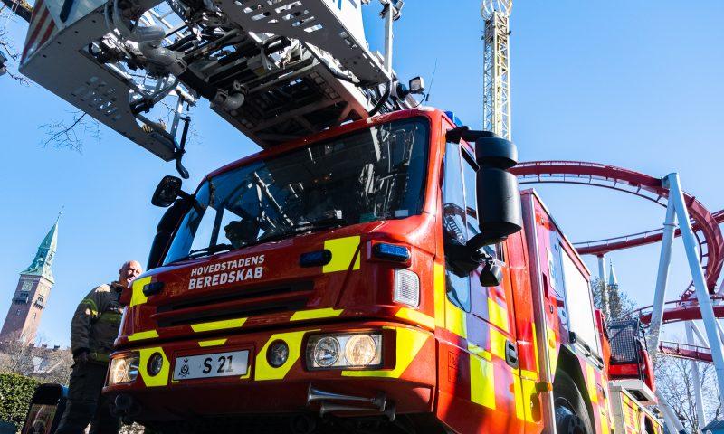 Brandbiler rykker ind i Tivoli i denne uge. Foto: PR