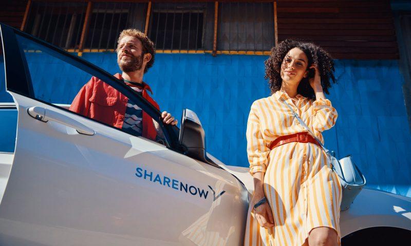 Vælg en af SHARE NOW's otte forskellige bilmodeller og sus ud i sommerlandet. Foto: SHARE NOW