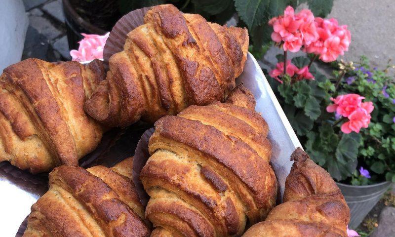 Bageriet H.U.G har udviklet en croissant helt uden gluten. Foto: PR