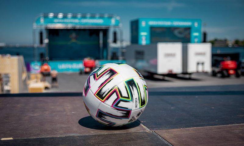 Der er mange events i Football Village på Ofelia Plads. Foto: PR