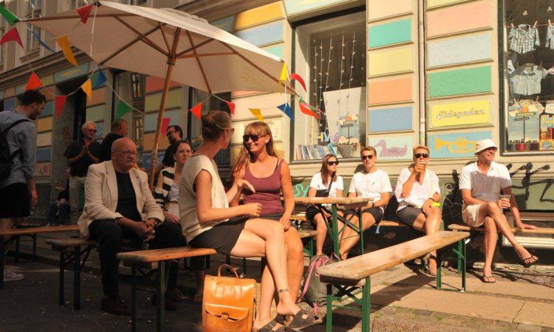 Saxogade er igen klar til fest. Foto: PR