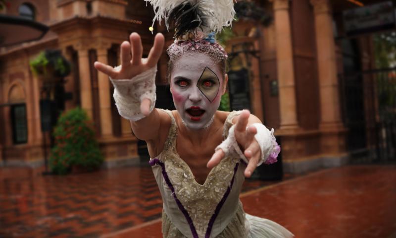 I oktober kan du bl.a. fejre Halloween i Tivoli. Foto: Tivoli, PR