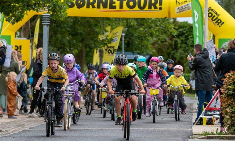 BørneTour er for børn og unge, som ikke er medlem af en cykelklub. Foto: PR