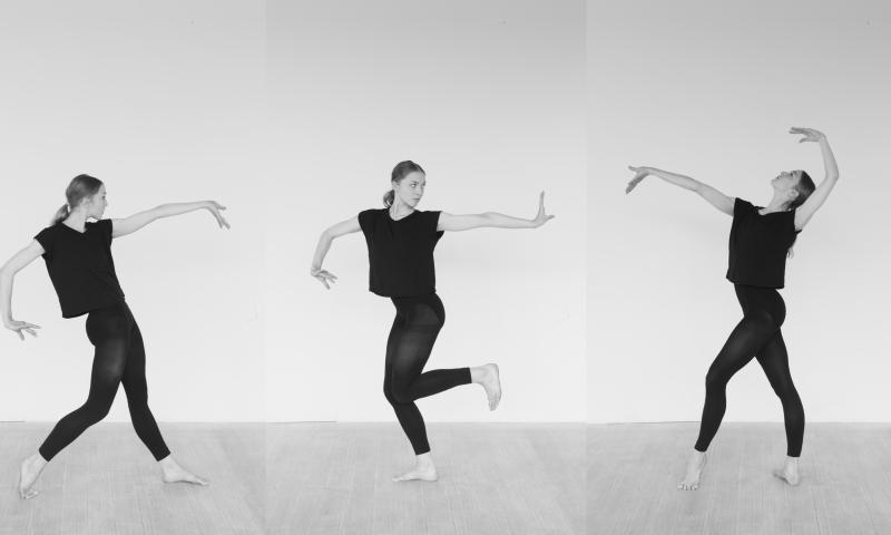 """Balletdanserinde og solist ved Det Kgl. Teater Astrid Elbo kan opleves i forestillingen """"Bella Ballerina"""" på Glyptoteket. Foto: PR"""